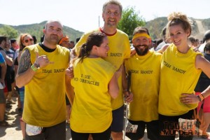 Group shot at the LA Tough Mudder