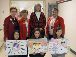 "Lions Club of Hudson, NH sponsors contest to create peace posters, ""Our World, Our Future"""