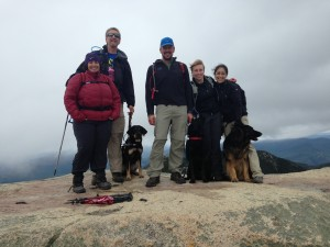 Group at summit