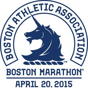 Boston Marathon 2015 logo