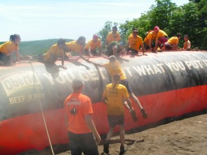 TEAMwork at the tough mudder