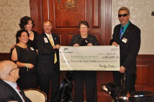 Guiding Eyes for the Blind receives check