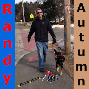 Autumn and Randy walking, but with LEGO robots!