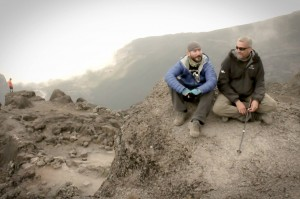 Randy and Jose on Kilimanjaro
