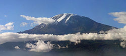 Majestic picture of Mount Kilimanjaro