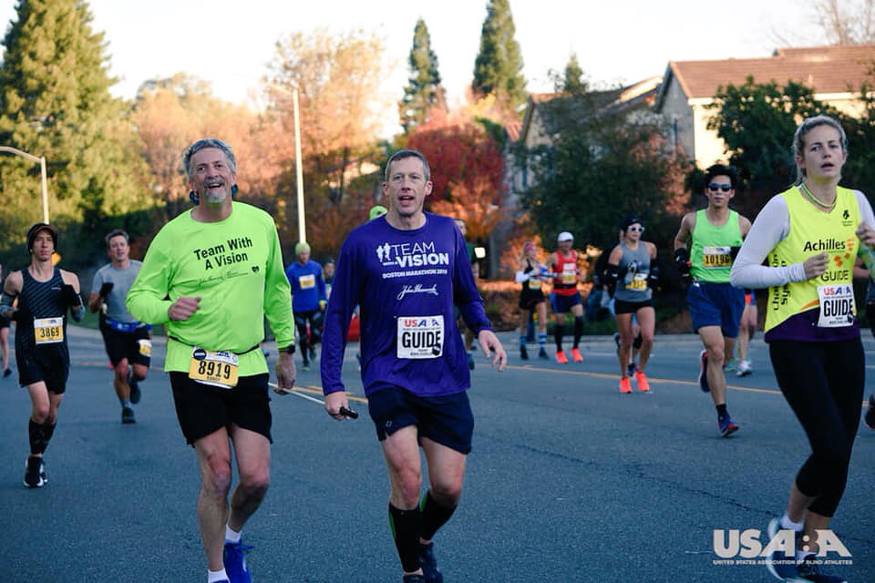 Randy and Rodney in the USABA Marathon in California on December 2.