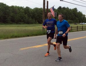 Randy and Rodney in The Hollis Fast 5k race.